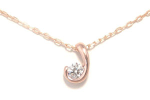 ダイヤモンドリングをネックレスにリフォーム